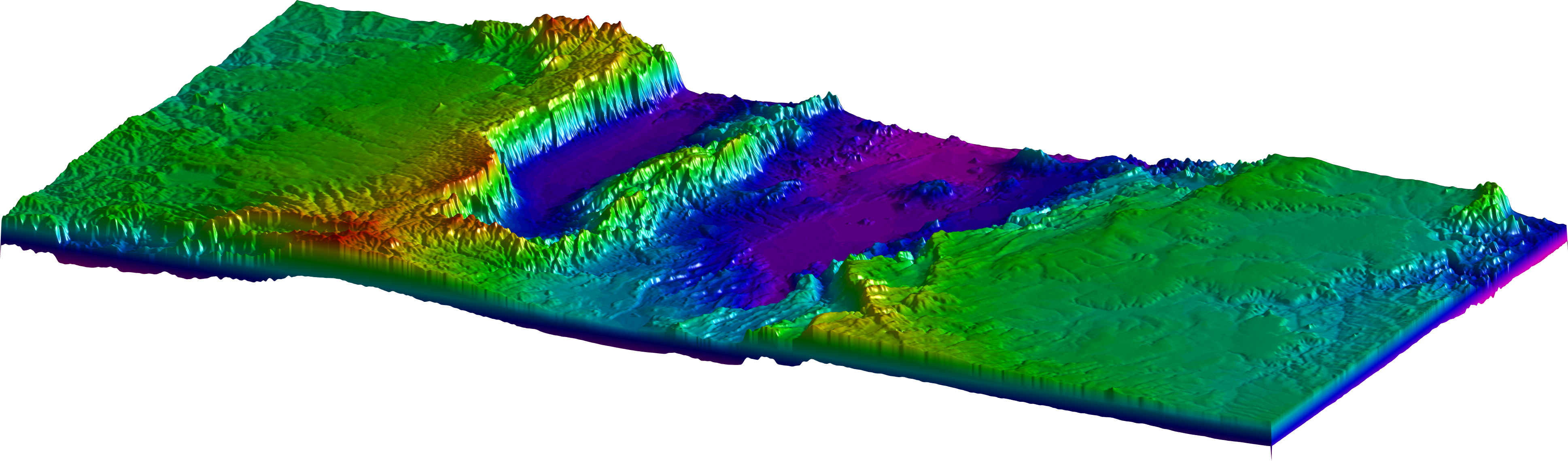 Merging SRTM Files in MATLAB – MATLAB Recipes for Earth Sciences