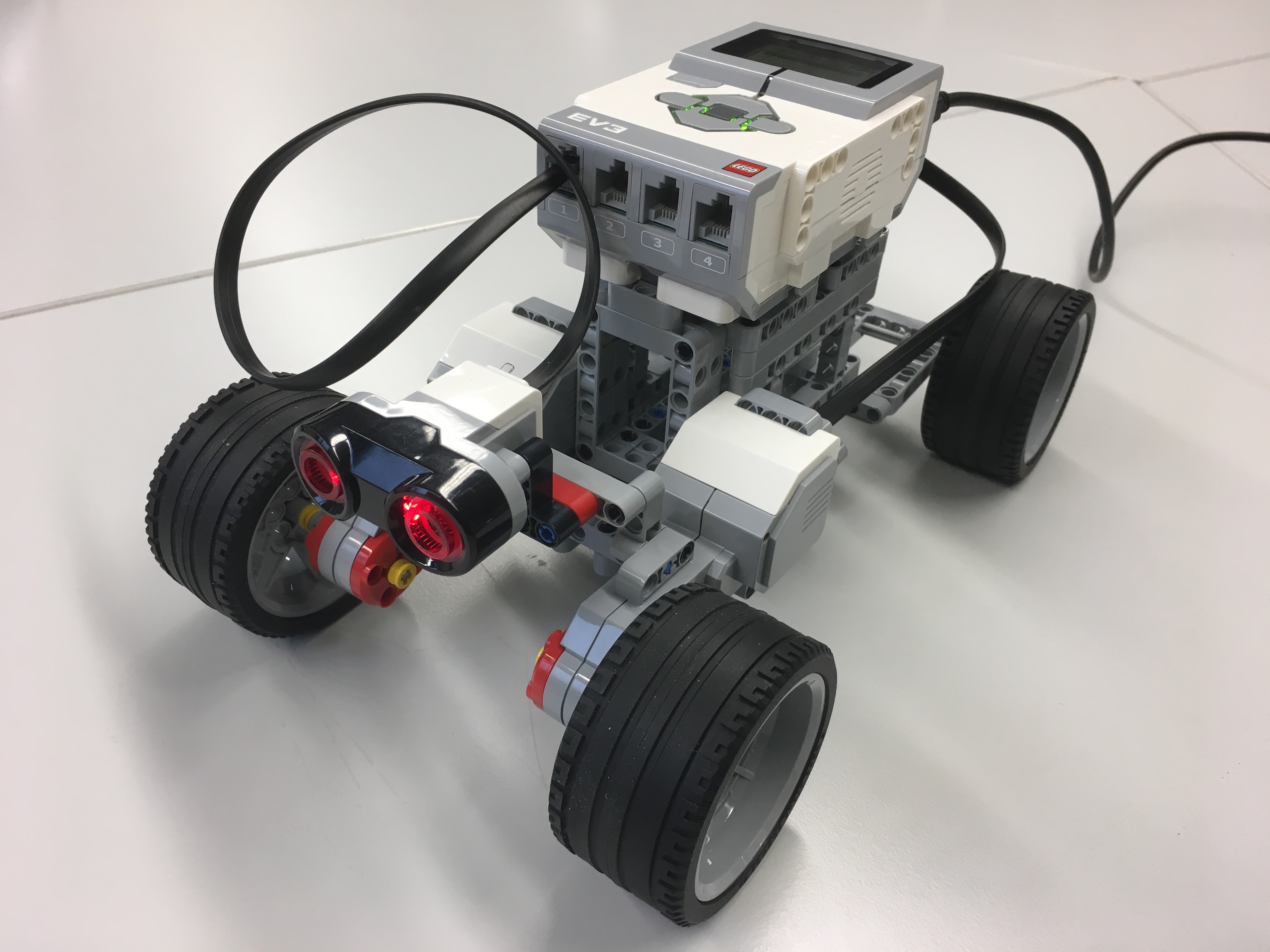 Controlling Motors And Read Sensors Of Lego Mindstorms With Matlab
