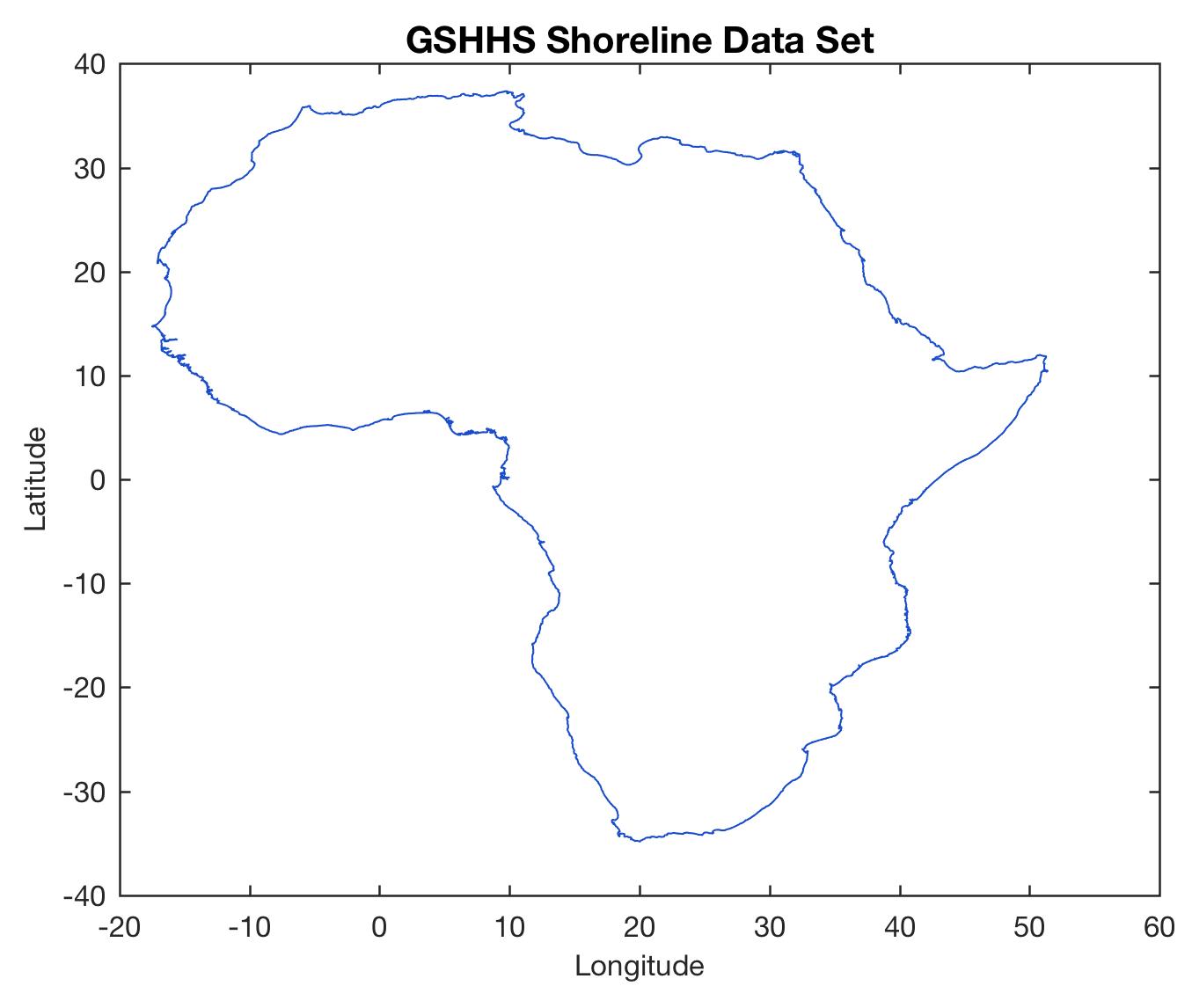 Matlab High Resolution Map
