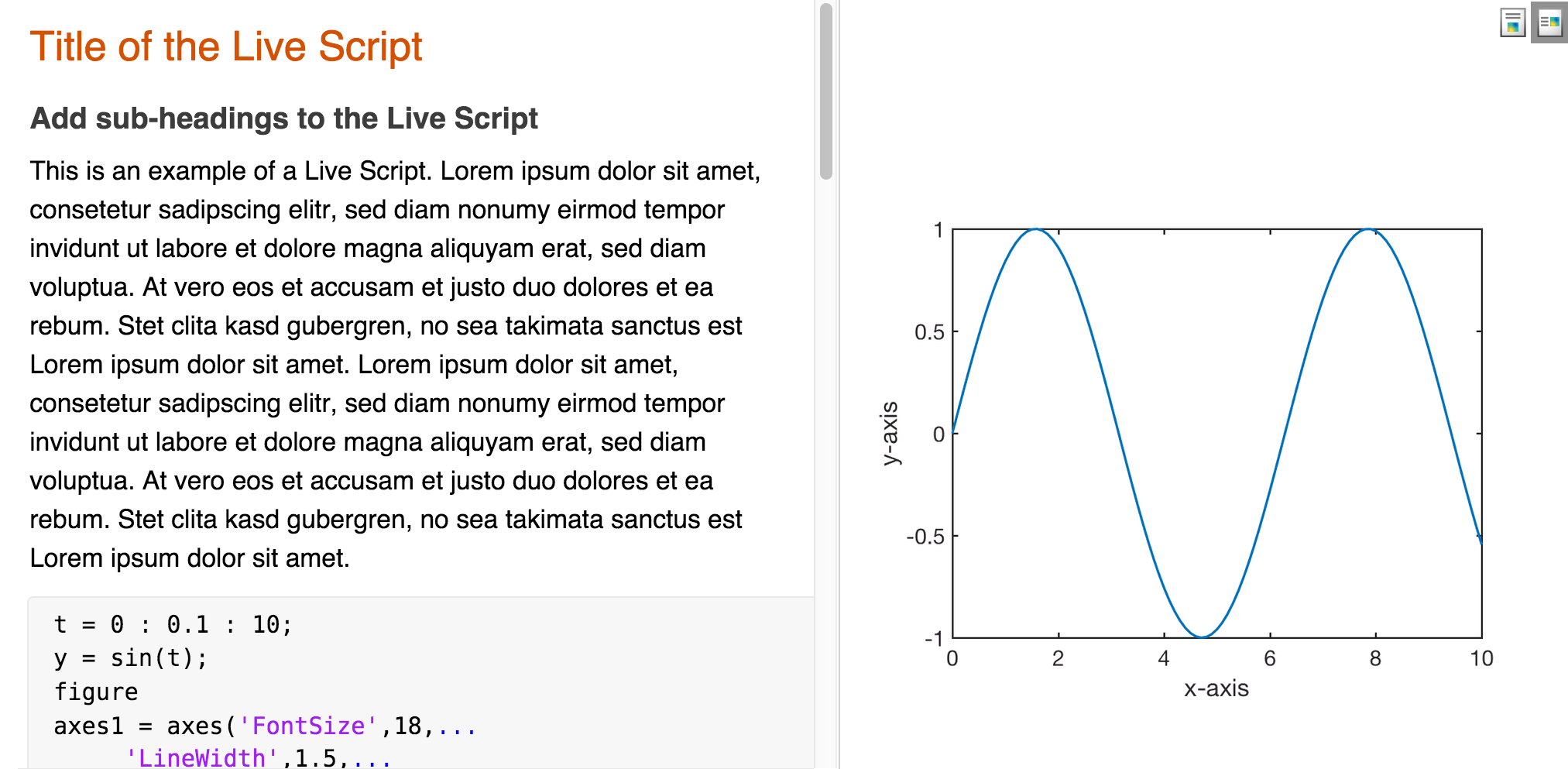 A Year with the new MATLAB Live Editor – MATLAB Recipes for Earth