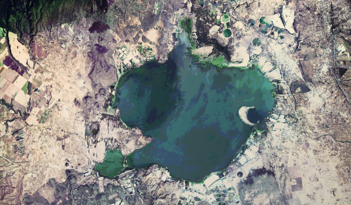 Importing, Processing and Exporting LANDSAT Images with